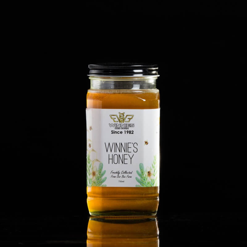 Winnies Pure Honey 750ml